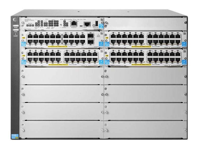 HP 5412R-Gig-T-PoE+/SFP+ v2 zl2 Switch (J9825A)
