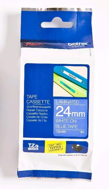 Brother TZe555 Etiketten / Beschriftungsbänder