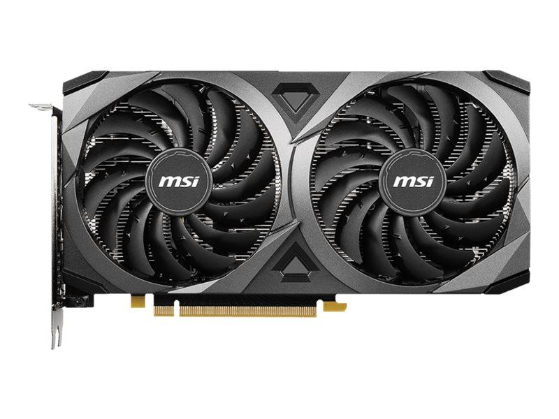 MSI GeForce RTX 3060 VENTUS 2X 12G OC - Grafikkarten