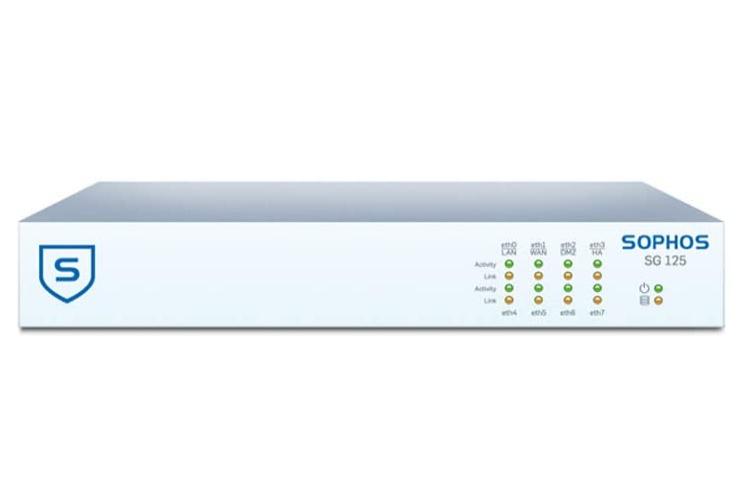Sophos SG 125 - Rev 3 - Sicherheitsgerät - mit 1 Jahr TotalProtect