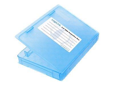 """LogiLink 2.5"""" HDD Protection Box for 1 HDD - Festplattenlaufwerk-Schutzgehäuse"""