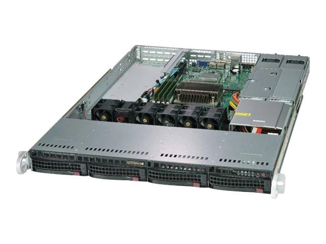"Supermicro SuperServer 5019C-WR - Server - Rack-Montage - 1U - 1-Weg - RAM 0 GB - SATA - Hot-Swap 8.9 cm (3.5"")"