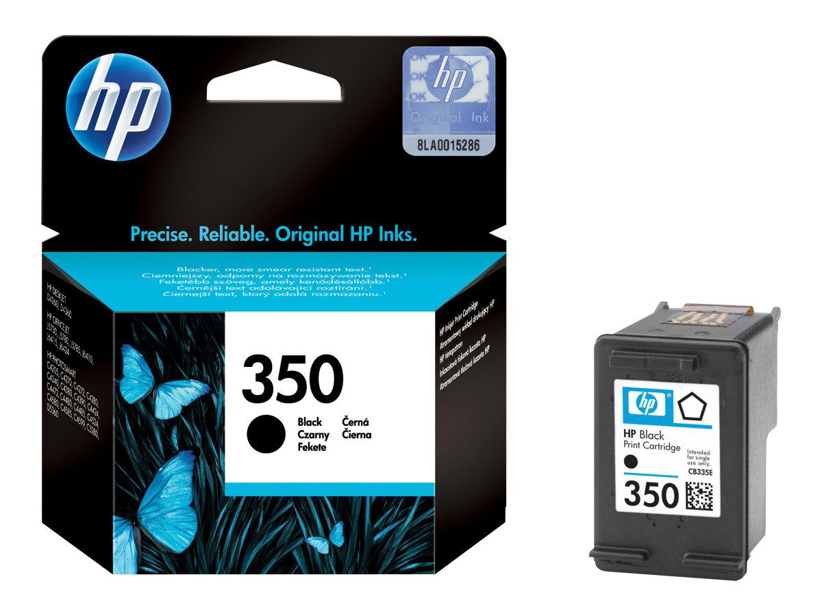 HP 350 - 4.5 ml - Schwarz - Original - Tintenpatrone