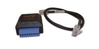 APC Dry Contact I/O Accessory - Netzwerkadapterkit - Schwarz