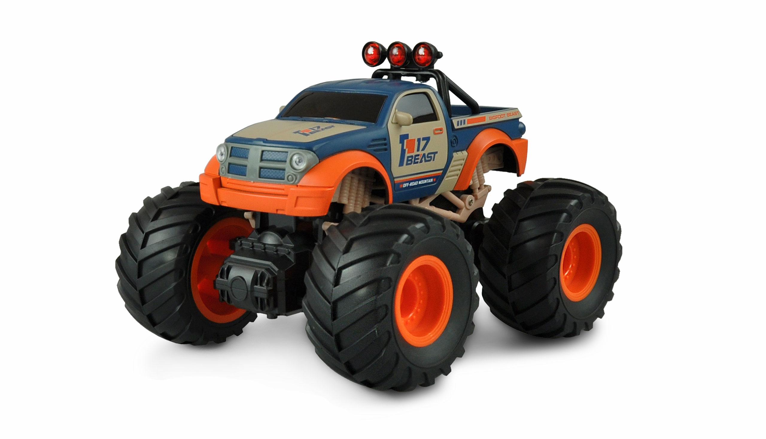 Amewi 22483 - Buggy - Elektromotor - 1:18 - Betriebsbereit (RTR) - Blau - Orange - Junge/Mädchen