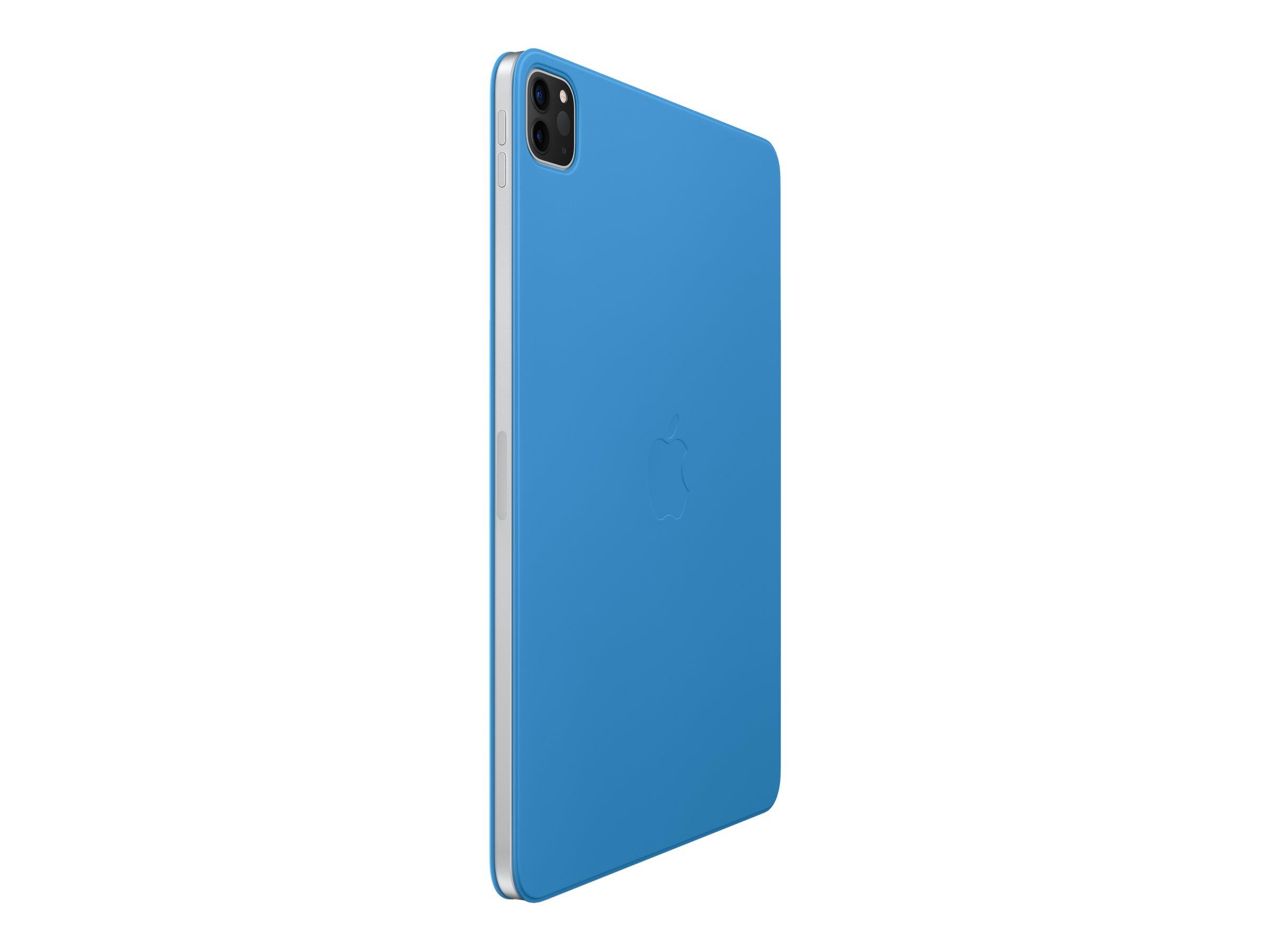 """Apple Smart Folio - Flip-Hülle für Tablet - Polyurethan - Surf Blue - 11"""" - für 11-inch iPad Pro (1. Generation, 2. Generation)"""