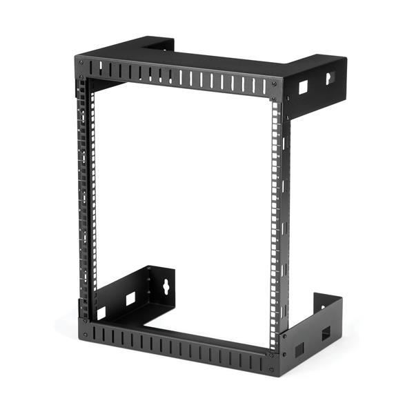 StarTech.com 12 HE wandmontage Server Rack - 30,5cm tief - 12U - Wandmontiertes Regal - 90 kg - Schwarz - Stahl - offen