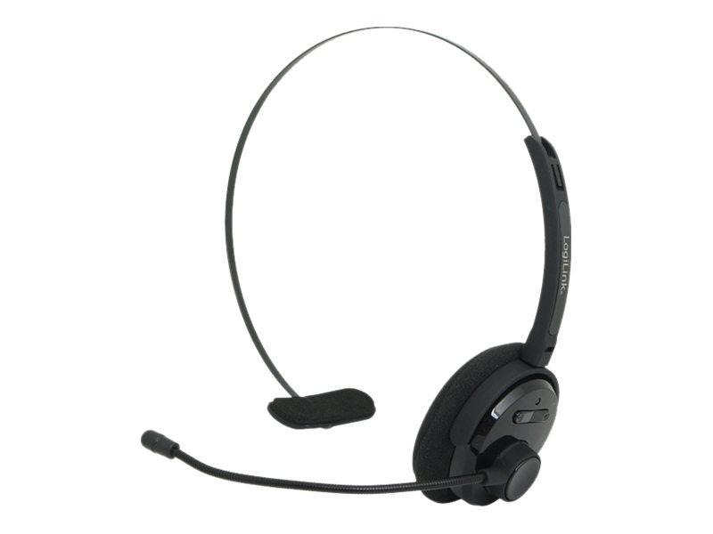 LogiLink Bluetooth Mono Headset - Headset - On-Ear