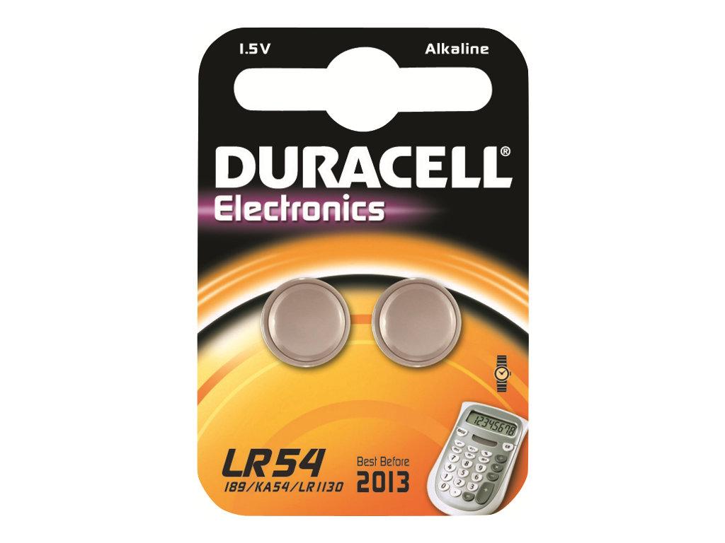 Duracell Electronics LR54 - Batterie 2 x LR54