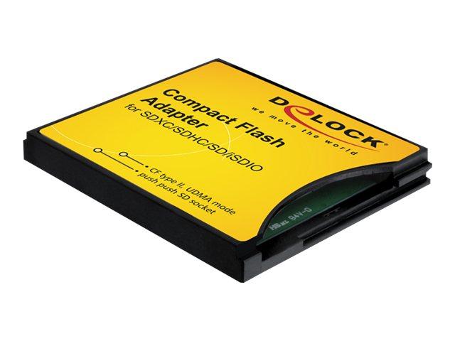 Delock Compact Flash Adapter - Kartenadapter (MMC, SD, SDHC, SDXC)