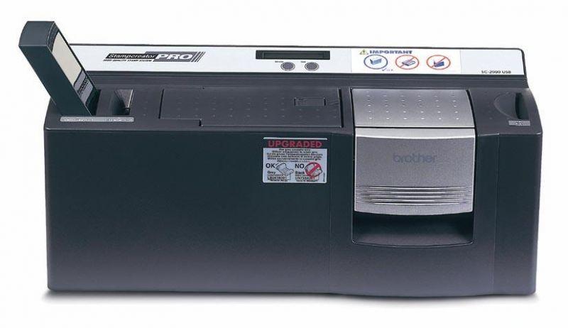 Brother SC-2000USB - Professionelle Stempelerstellung in 600 dpi und vier Farben