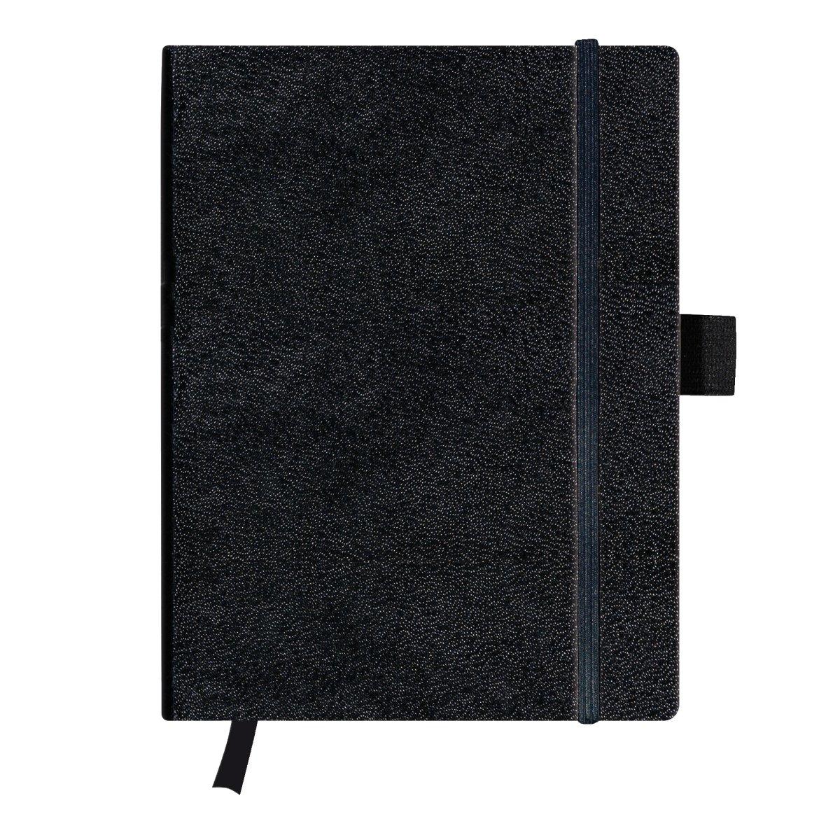 Herlitz 11155843 - Einfarbig - Schwarz - 96 Blätter - 80 g/m² - Kariertes Papier - Universal