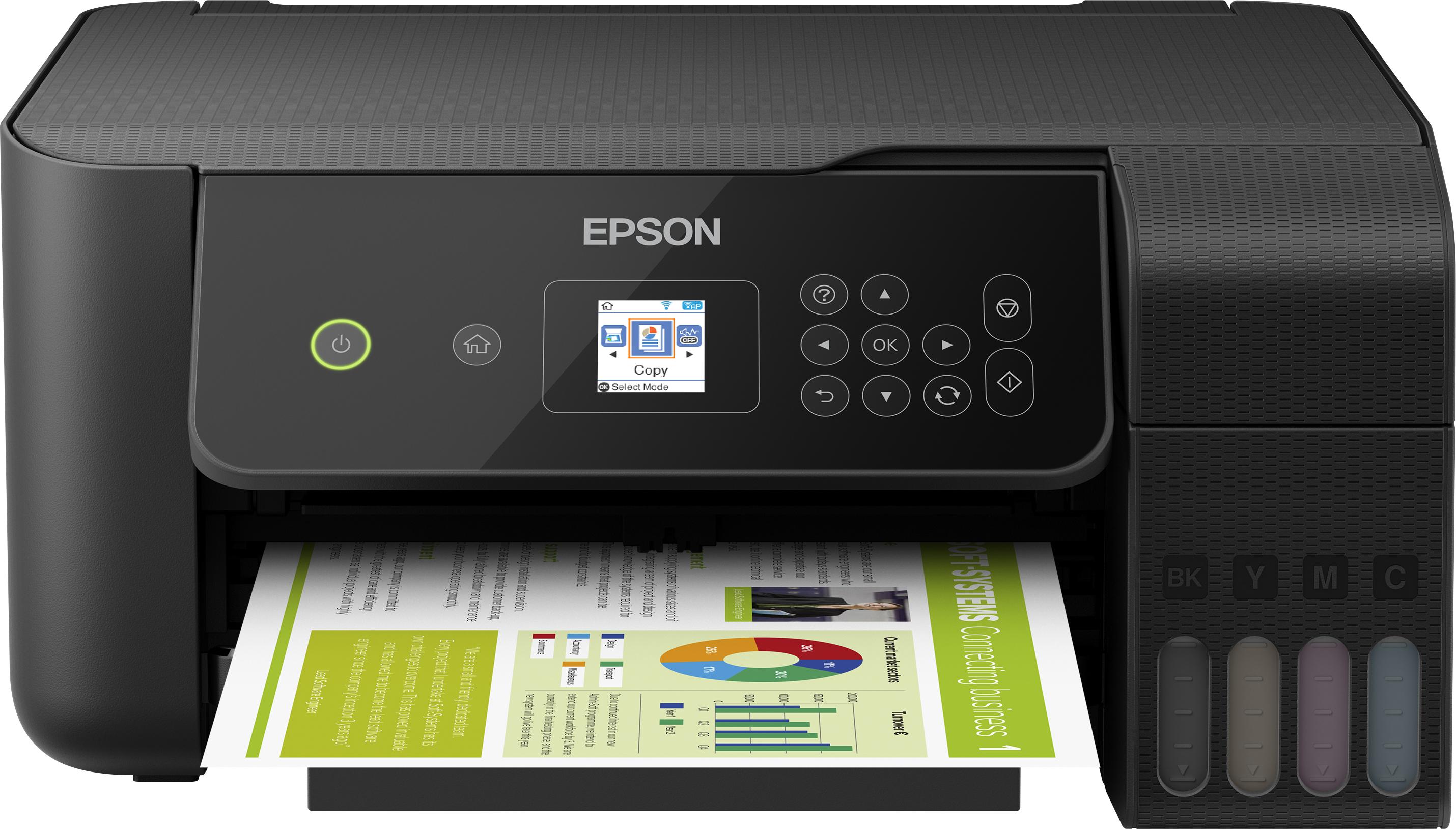 Epson EcoTank EcoTank ET-2720 Unlimited - Tintenstrahl - Farbdruck - 5760 x 1440 DPI - A4 - Direkter Druck - Schwarz