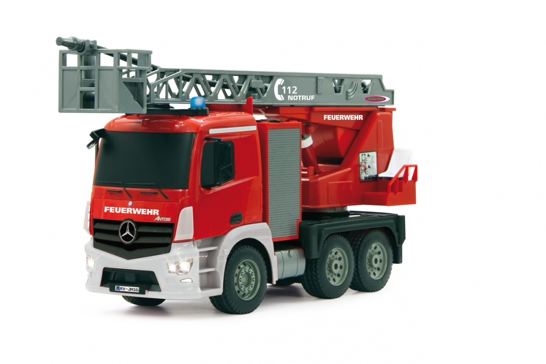 JAMARA Feuerwehr Drehl Mercedes Antos - Alkali - 2 x AA - 130 mm - 220 mm - 38 cm - 1,4 kg