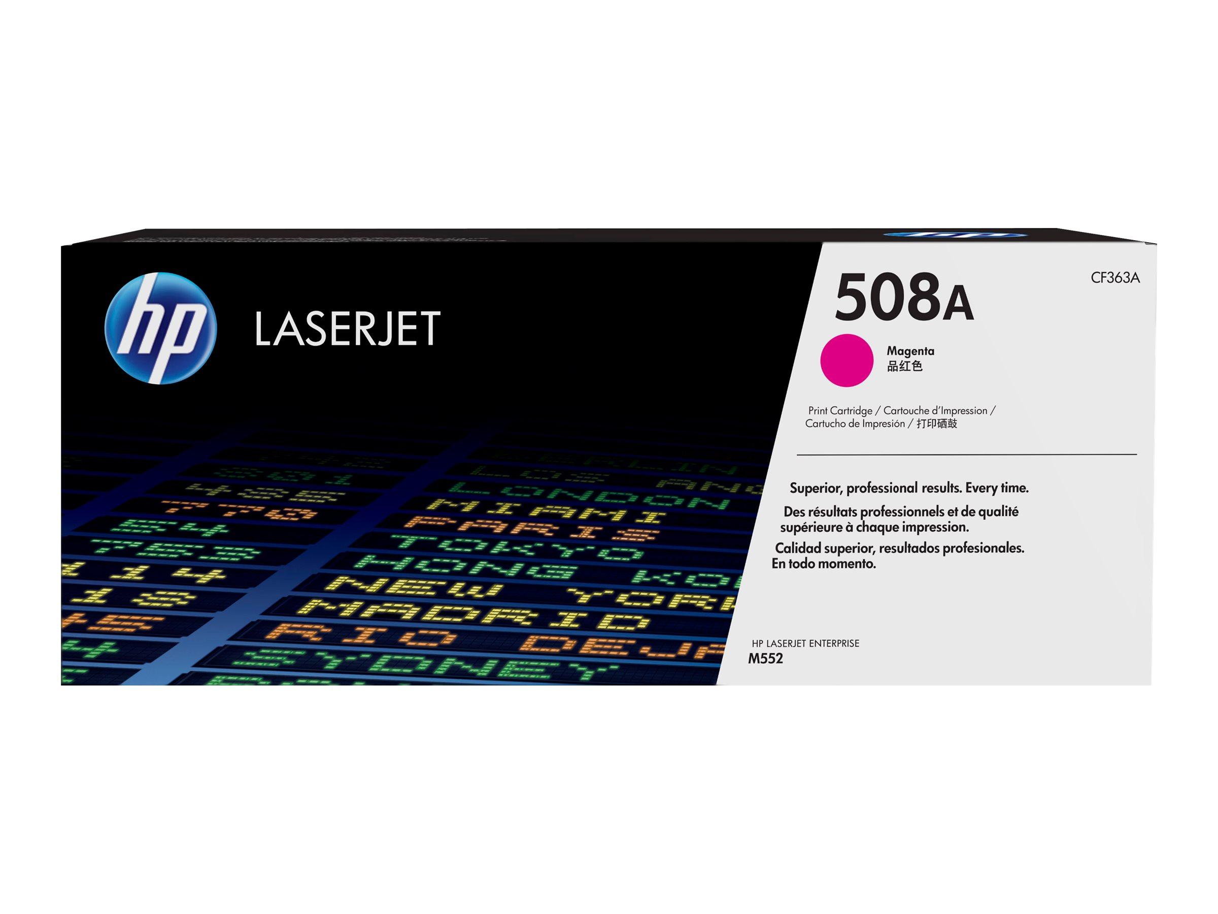 HP 508A - Magenta - Original - LaserJet - Tonerpatrone (CF363A)