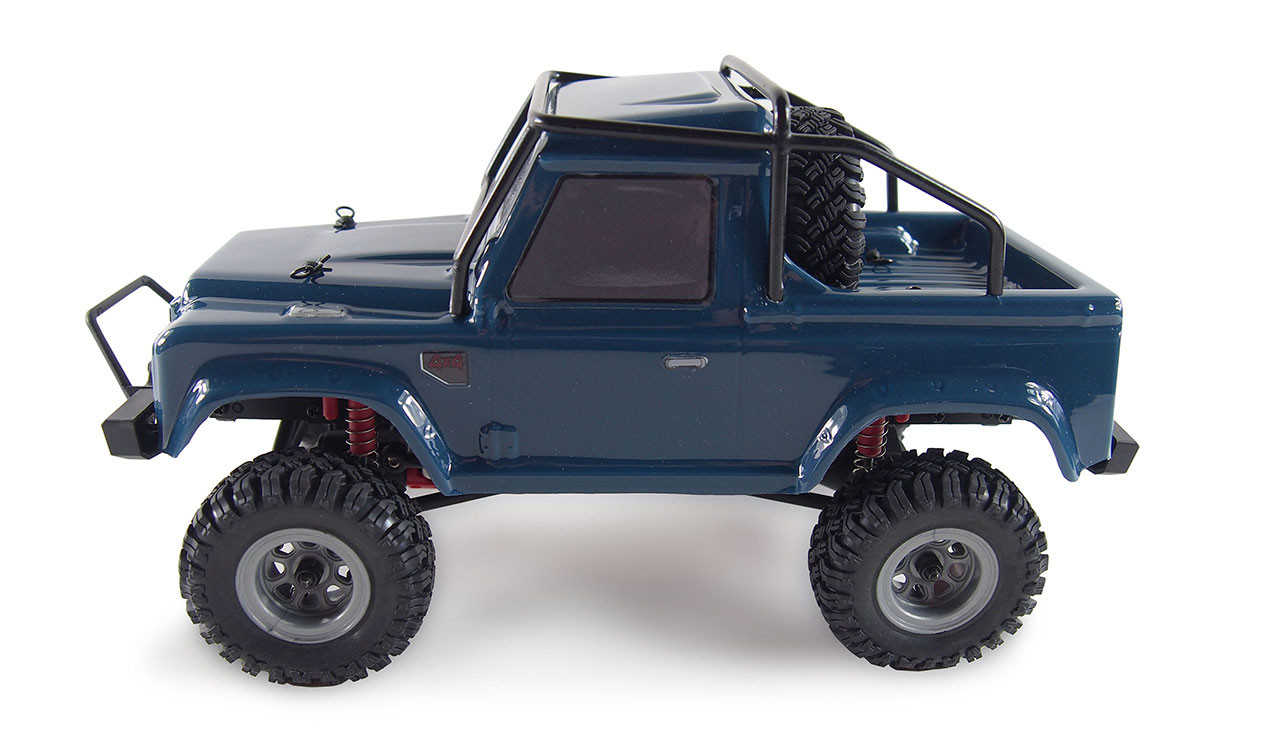 Amewi AMX Rock Crawler AM24 - Off-Road-Wagen - 1:24 - Betriebsbereit (RTR) - Blau - Allradantrieb - Metall