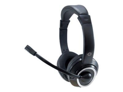 Conceptronic POLONA02B - Headset - On-Ear - kabelgebunden