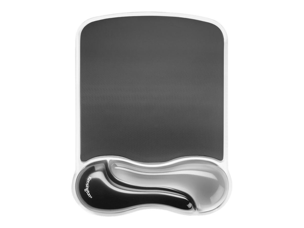 Kensington Duo Gel Mouse Wristrest Wave - Mauspad mit Handgelenkpolsterkissen