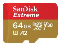 64GB Extreme microSDXC Speicherkarte Klasse 10