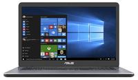F705UA-BX206T 1.60GHz i5-8250U Intel® Core i5 der achten Generation 17.3Zoll 1600 x 900Pixel Grau Notebook