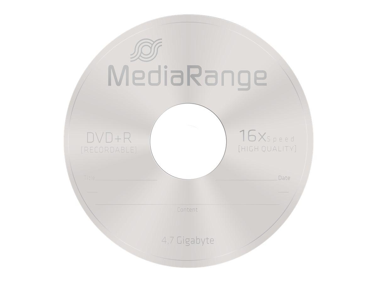 MEDIARANGE 5 x DVD+R - 4.7 GB (120 Min.) 16x