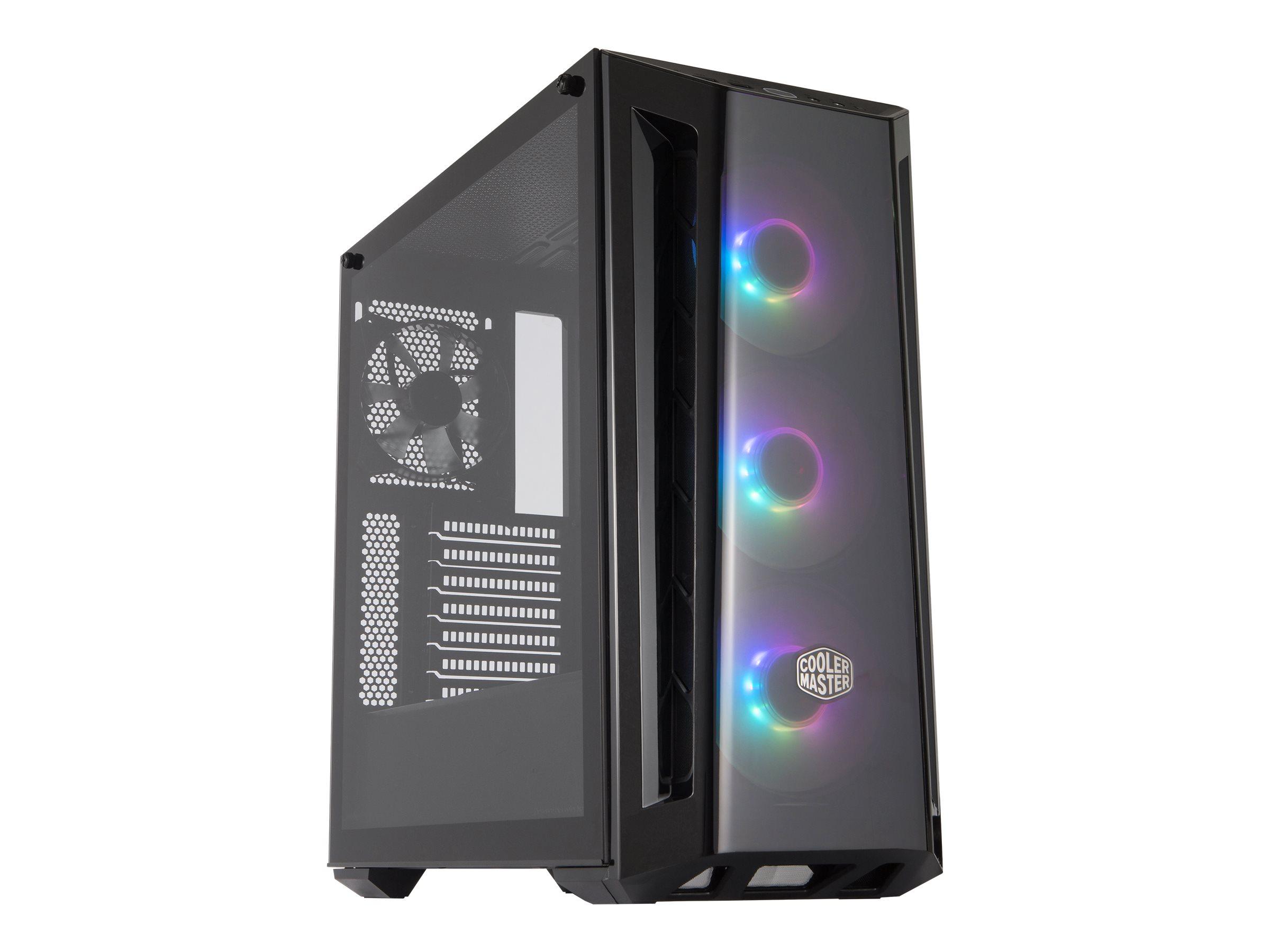 Vorschau: Cooler Master MasterBox MB520 ARGB - Tower - Erweitertes ATX - ohne Netzteil (ATX)