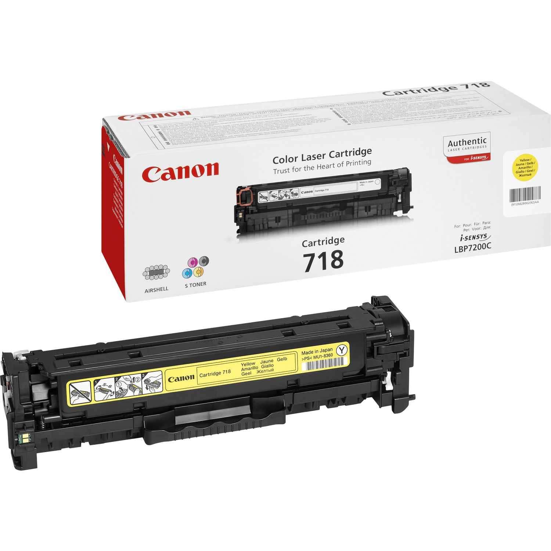 Canon CRG-718 Y Laser cartridge 2900Seiten Gelb