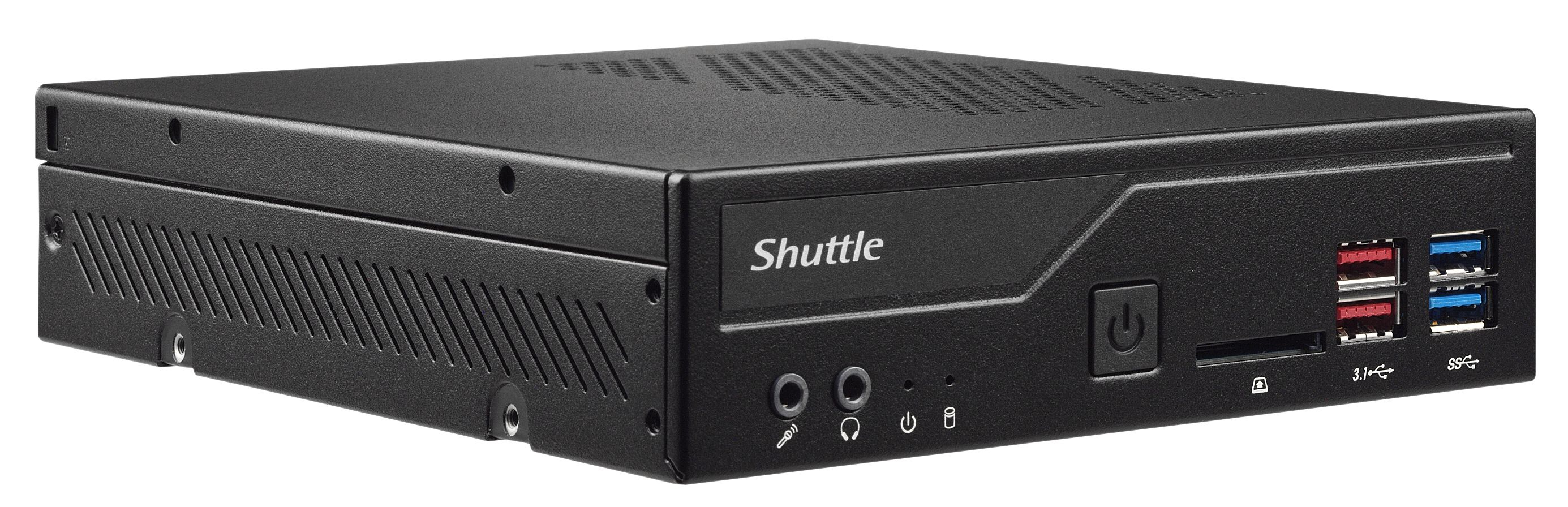 Shuttle Barebone slim DH370 Intel H370 SO-DIMM black - Barebone - Intel Sockel 1151v2 (Core i)