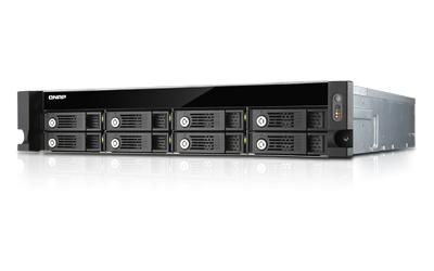 QNAP TS-853U-RP NAS Rack (2U) Eingebauter Ethernet-Anschluss Schwarz - Grau NAS & Speicherserver
