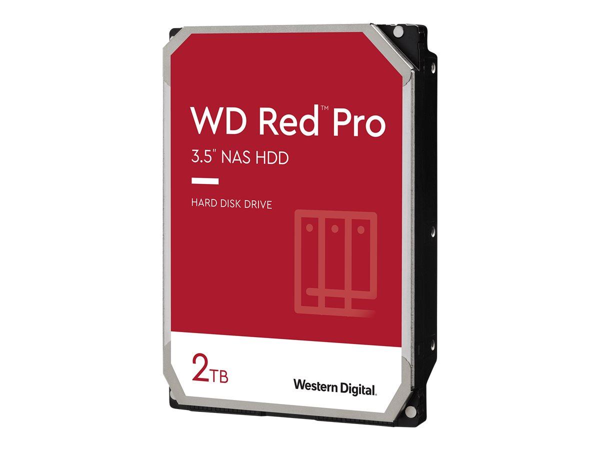 "WD Red Pro NAS Hard Drive WD2002FFSX - Festplatte - 2 TB - intern - 3.5"" (8.9 cm)"