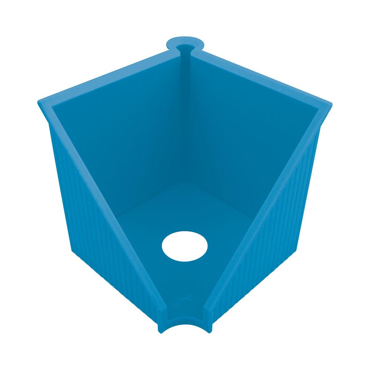 Vorschau: Herlitz Zettelkasten 10x10cm GREENline intensiv blau