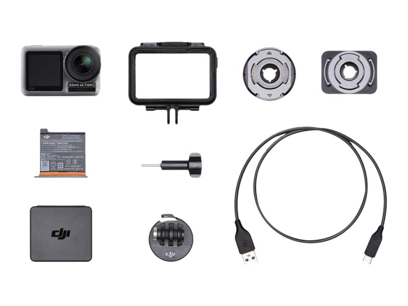 DJI Osmo Action - Action-Kamera - 4K / 60 BpS