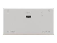 Kramer WP-580T Active Wall Plate - HDMI over HDBaseT Twisted Pair Transmitter - Erweiterung für Video/Audio