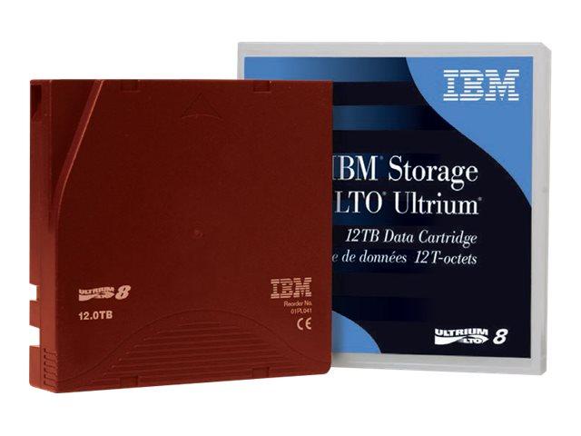 IBM LTO Ultrium 8 - 12 TB / 30 TB