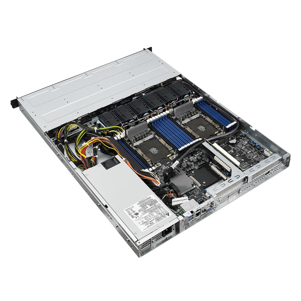 "ASUS RS500-E9-PS4 - Server - Rack-Montage - 1U - zweiweg - keine CPU - RAM 0 GB - SATA - Hot-Swap 8.9 cm (3.5"")"