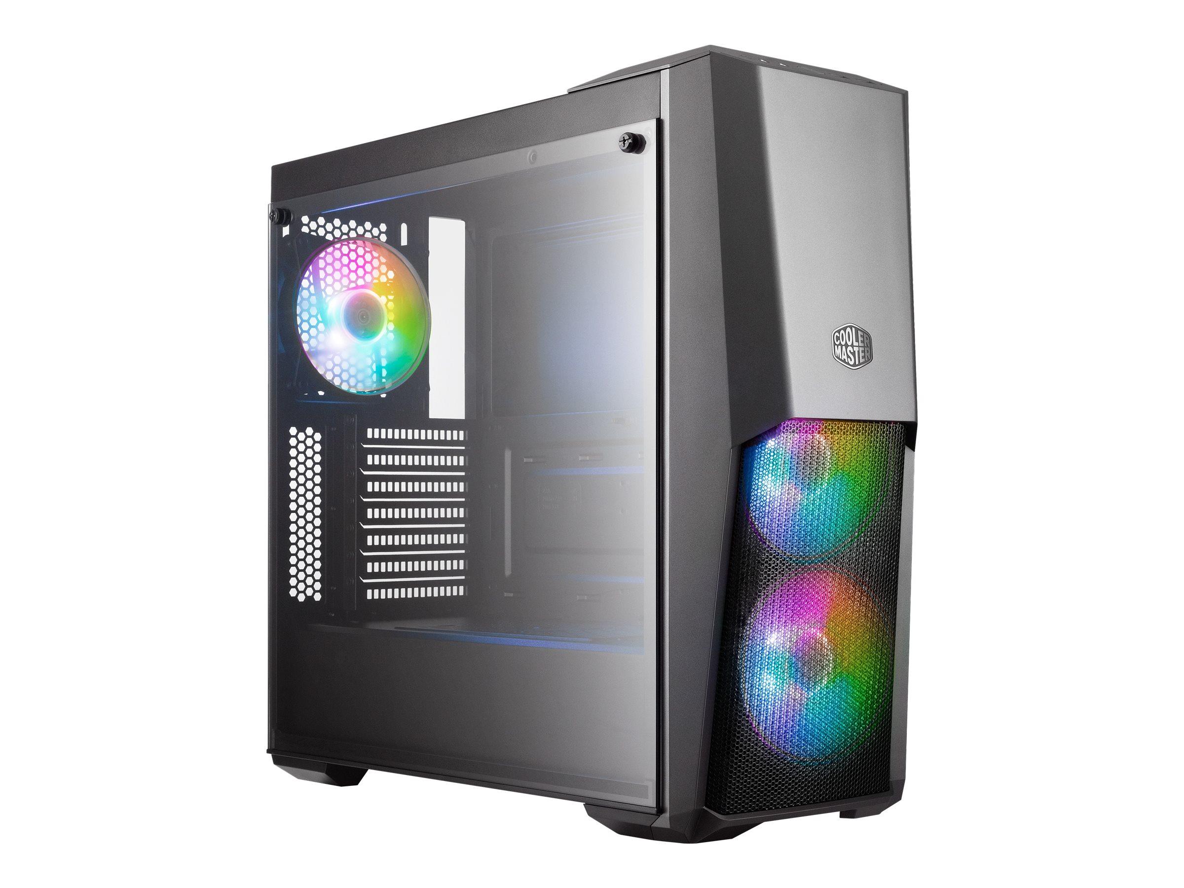 Vorschau: Cooler Master MasterBox MB500 ARGB - Tower - ATX - ohne Netzteil (ATX)