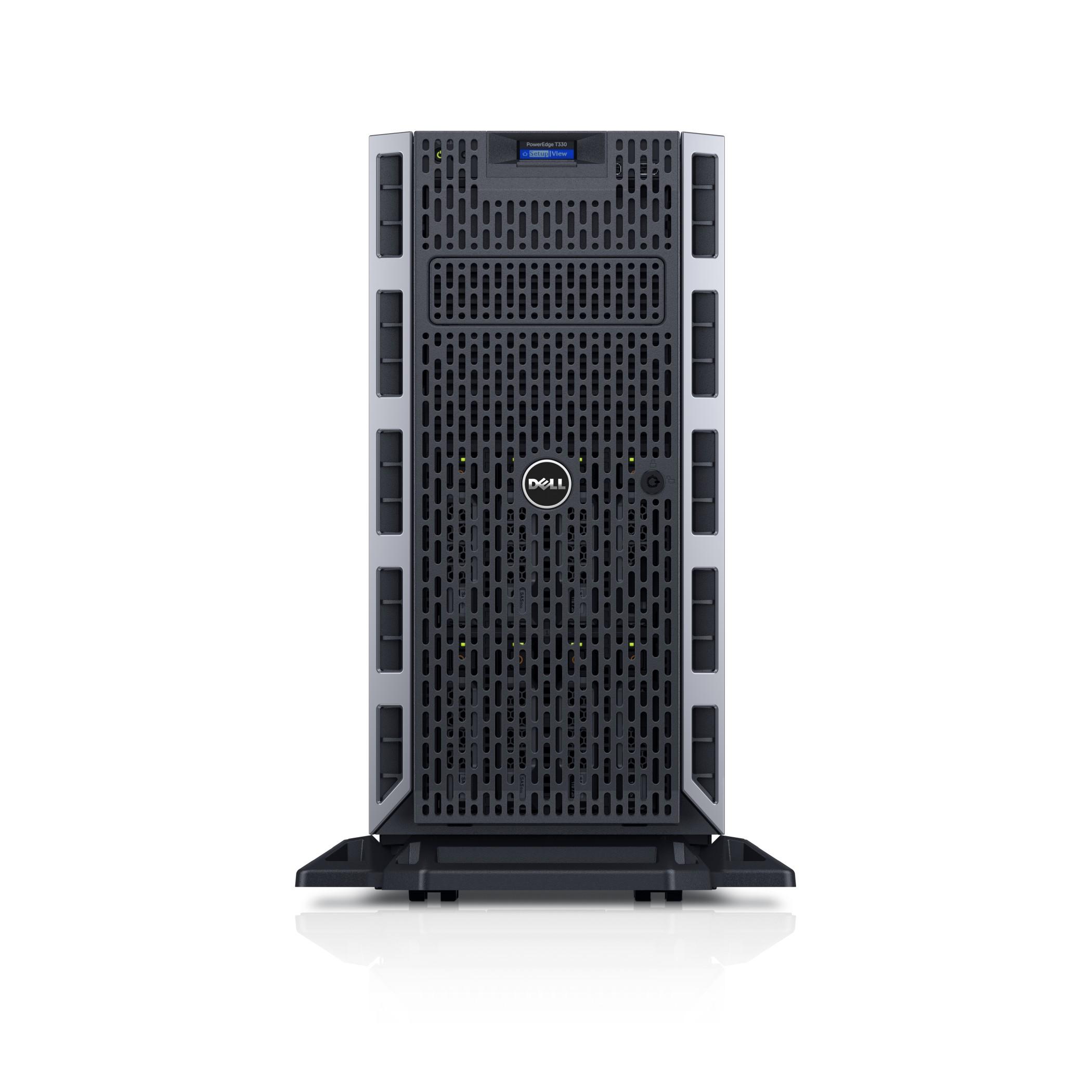 Dell PowerEdge T330 3GHz E3-1220V6 495W Tower (5U) Server