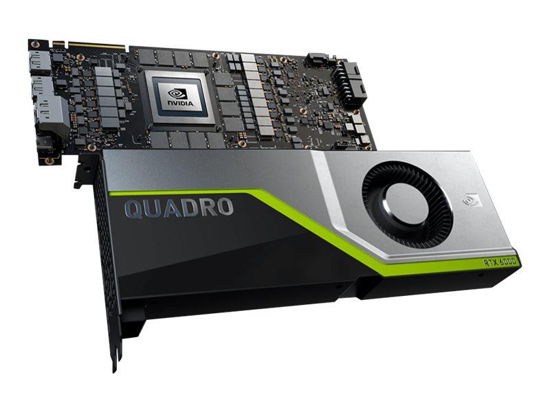 PNY NVIDIA Quadro RTX 6000 - Grafikkarten - Quadro RTX 6000