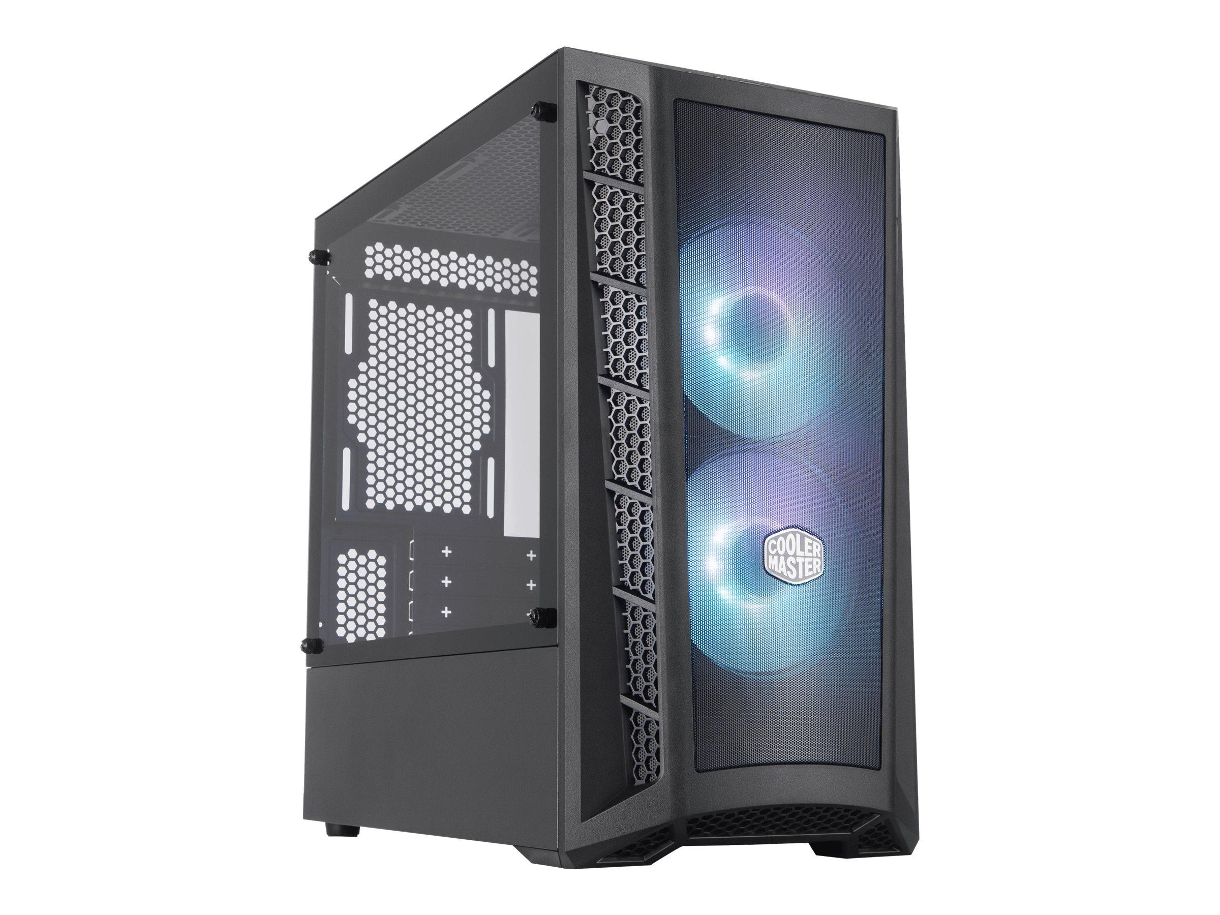 Vorschau: Cooler Master MasterBox MB311L ARGB - Tower - micro ATX - ohne Netzteil (ATX)