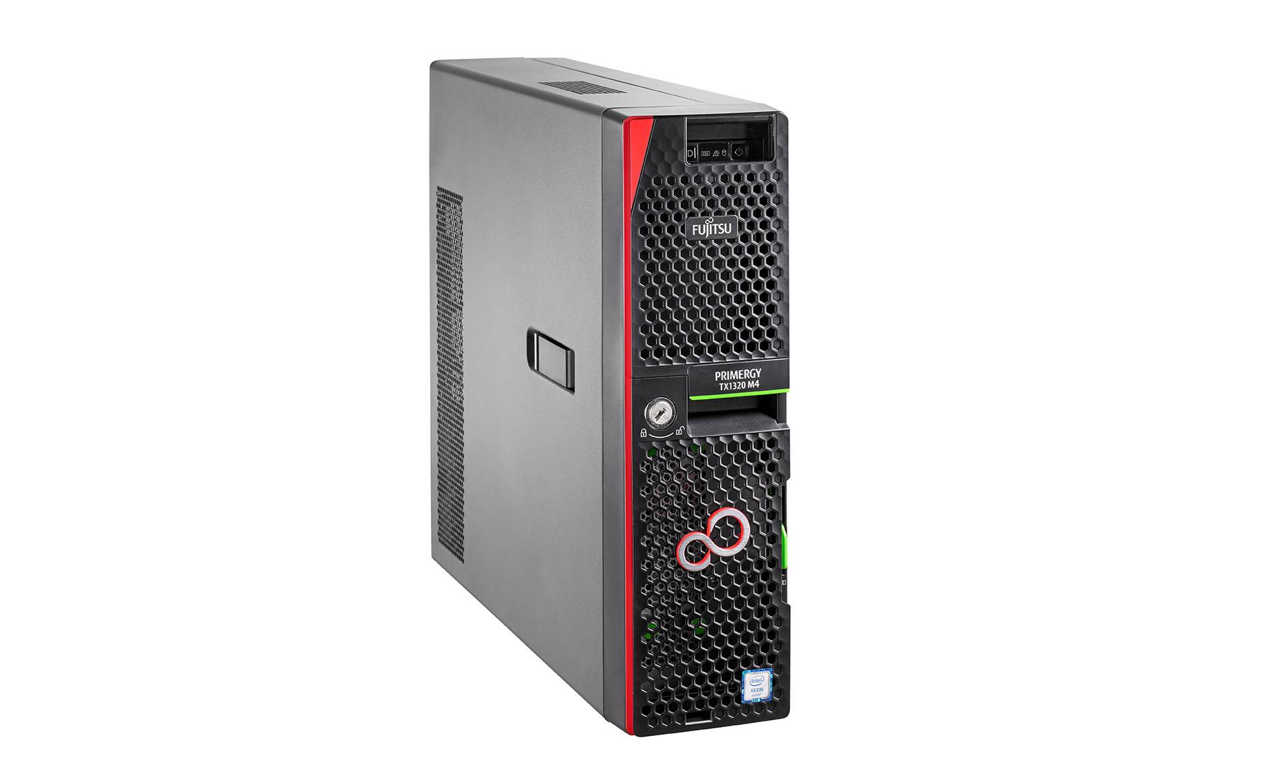 Fujitsu TX1320M4 Xeon E-2236 16GB 4SFF 450W - 3,4 GHz - 16 GB