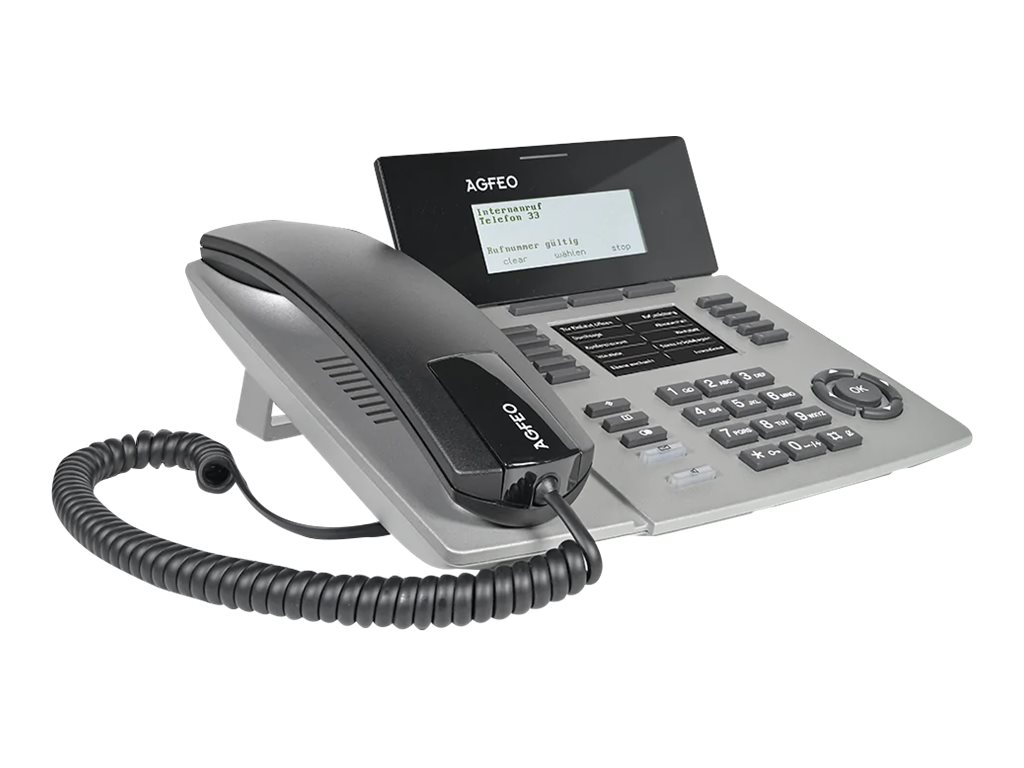 AGFEO ST 54 IP - VoIP-Telefon - Silber