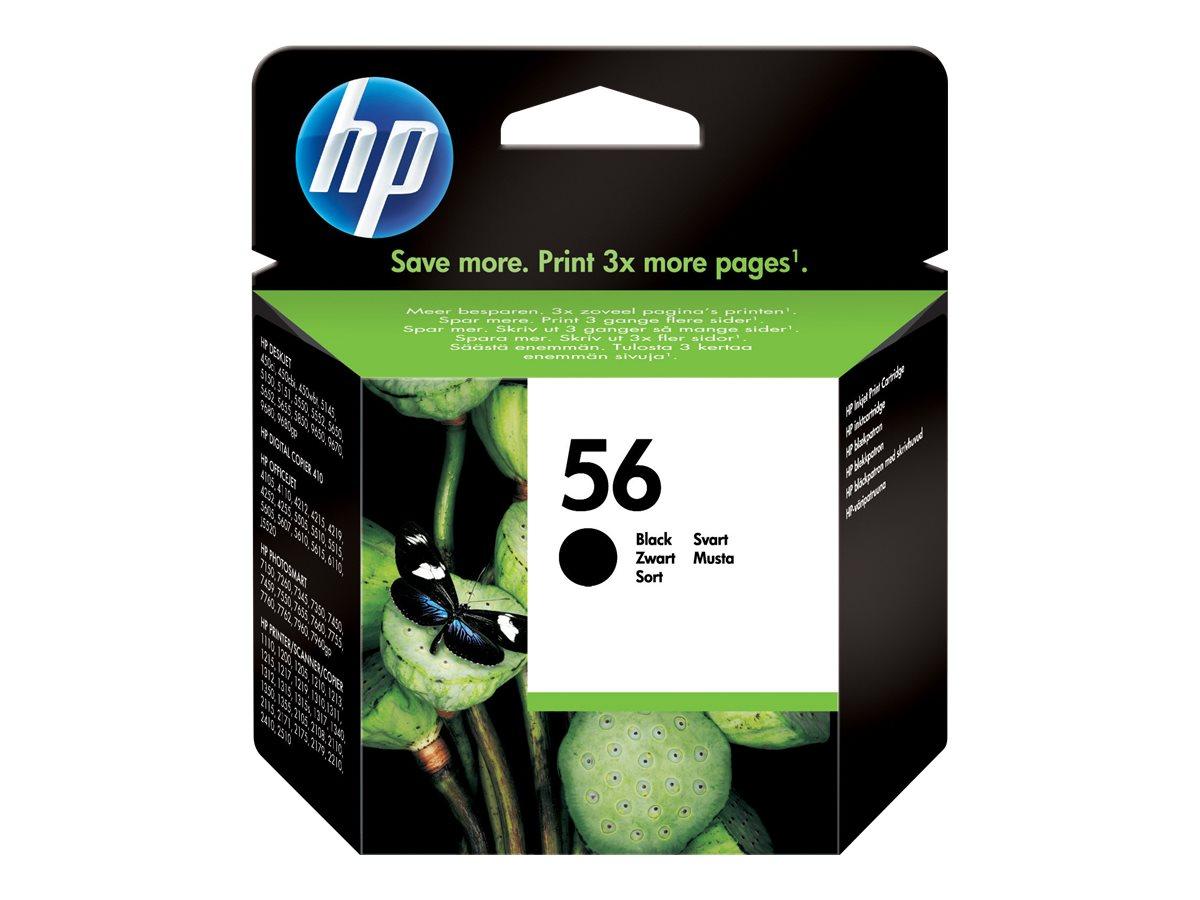HP 56 - Schwarz - Original - Tintenpatrone - für Deskjet 51XX