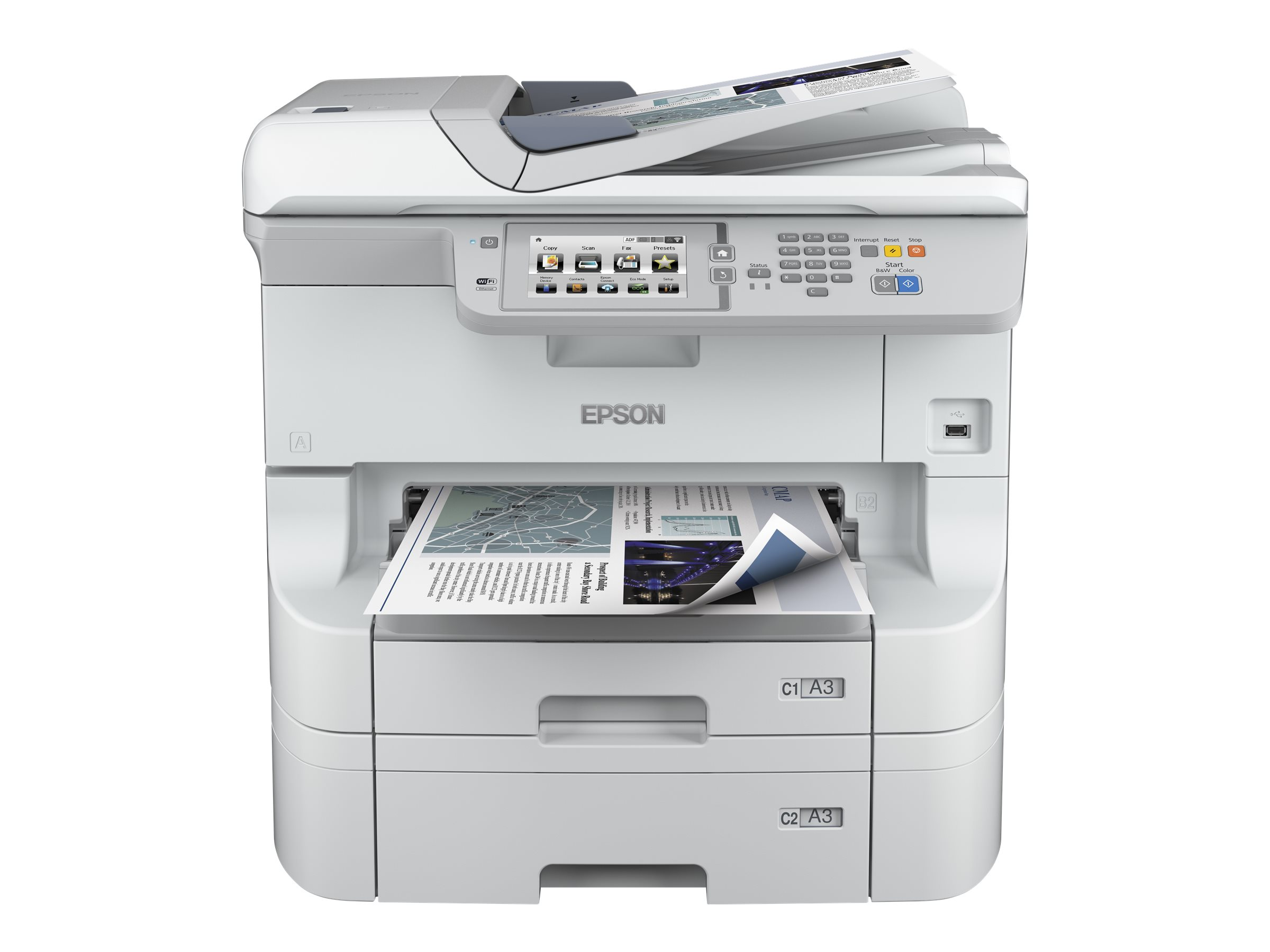 Epson WorkForce Pro WF-8590 DTWFC - Multifunktionsdrucker - Farbe - Tintenstrahl - A3 (297 x 420 mm)