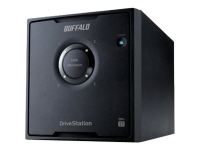 DriveStation HD-QHU3 Disk-Array 24 TB Desktop Schwarz