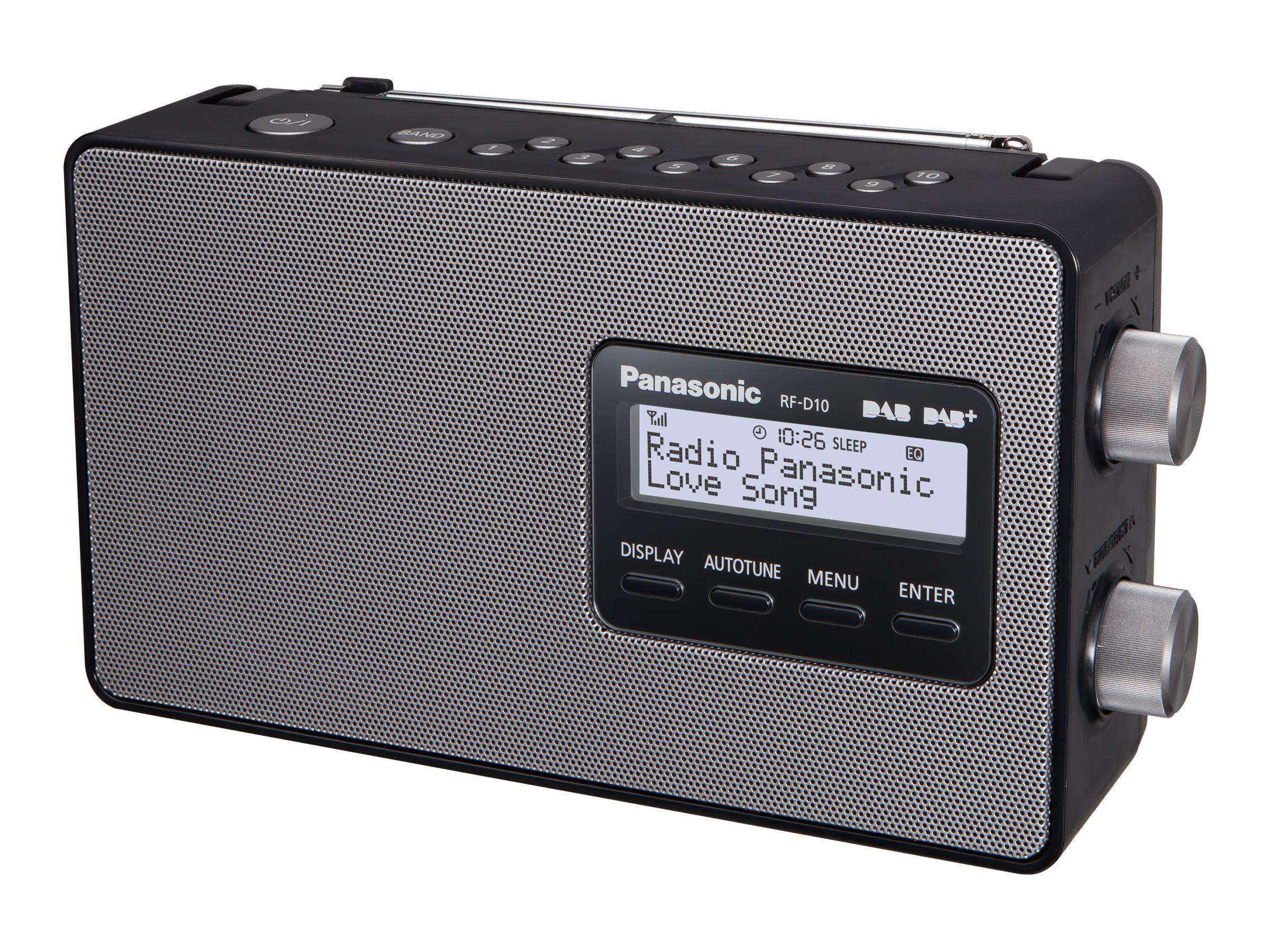 Panasonic RF-D10EG - Tragbares DAB-Radio