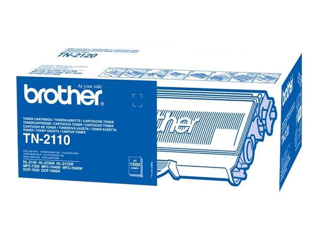 Brother TN-2110 - Schwarz - Original - Tonerpatrone