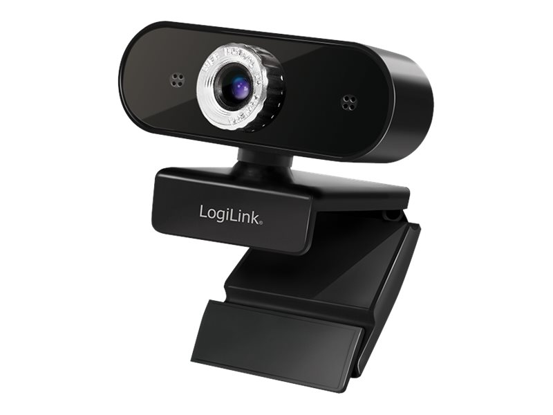 LogiLink Pro full HD USB webcam with microphone