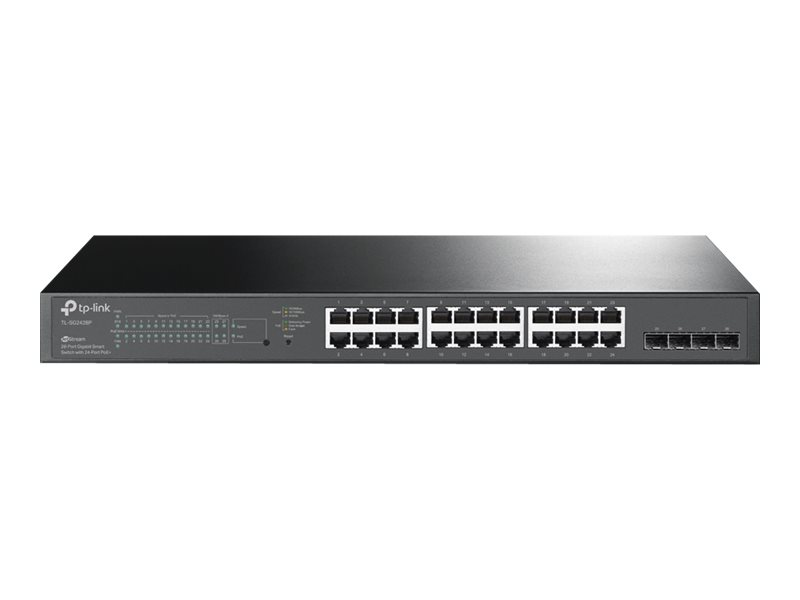 TP-LINK JetStream TL-SG2428P - Switch - Smart - 24 x 10/100/1000 (PoE+)