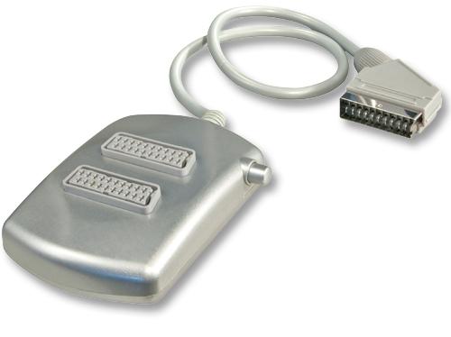 Lindy SCART-Umschalter 2 1 Ermöglicht die Auswahl zwischen 2