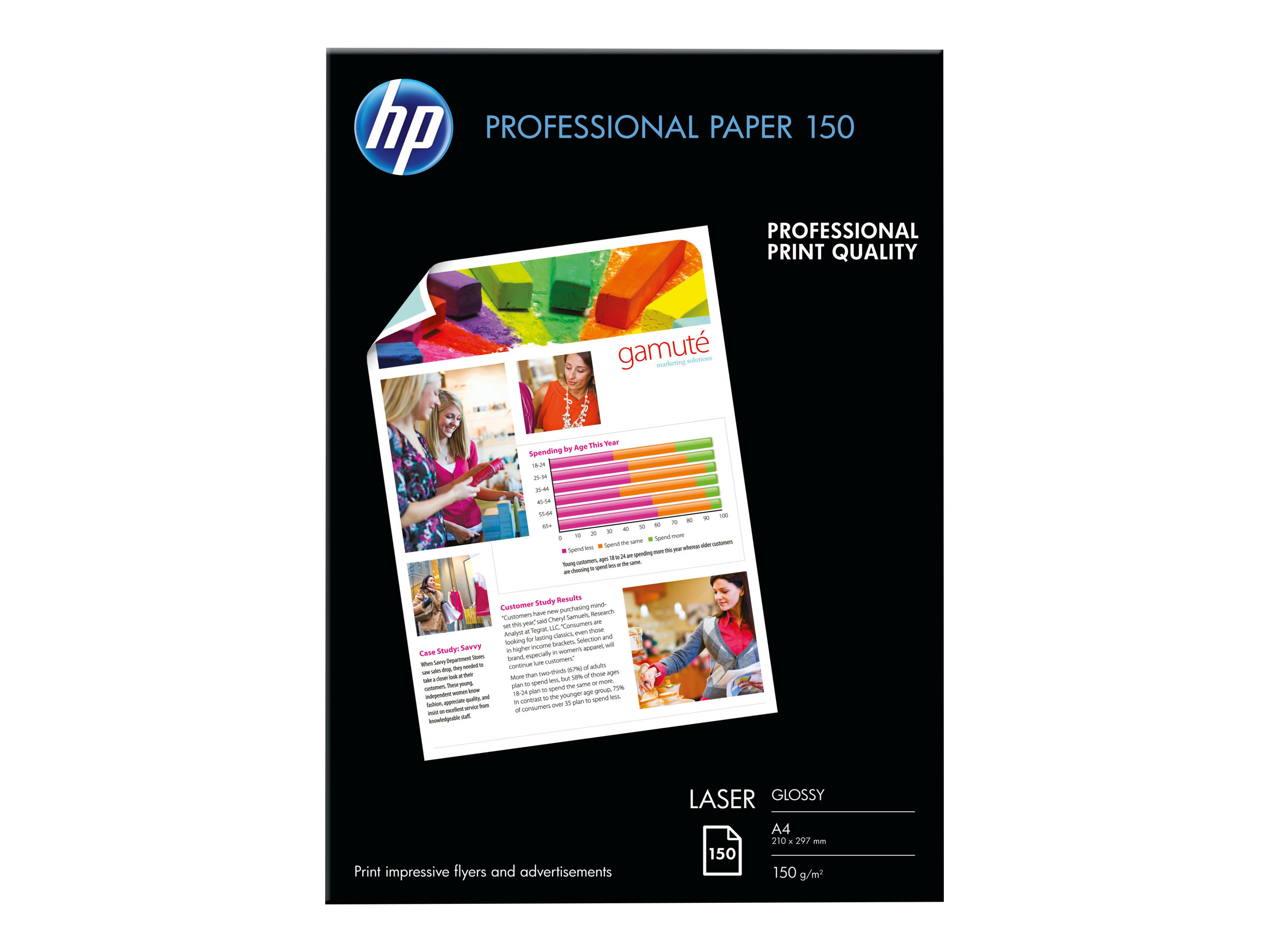 HP Professional Glossy Paper - Glänzend